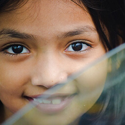girl portrait smile Asia content travel real UGC photography
